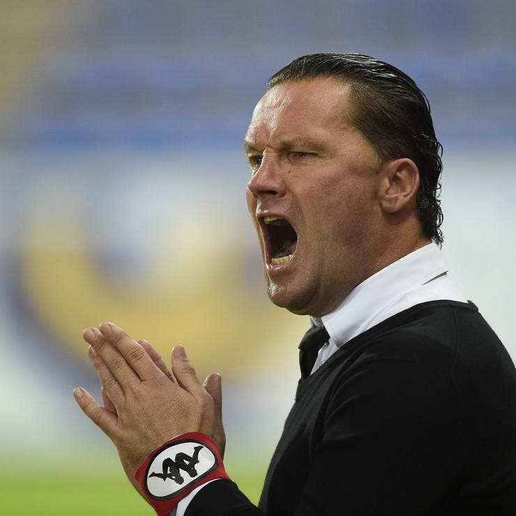 Stijn Vreven maakt het seizoen af als trainer van NAC Breda. © ANP.