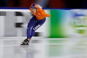 Sven Kramer heeft negende titel voor het grijpen © REUTERS