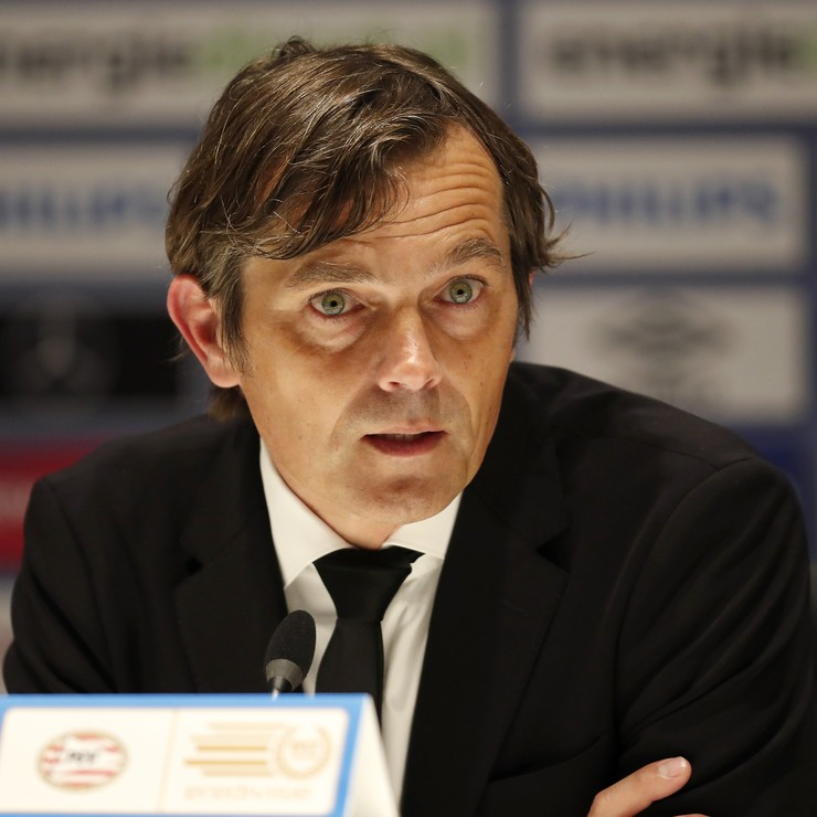 PSV-trainer Phillip Cocu © Hollandse Hoogte