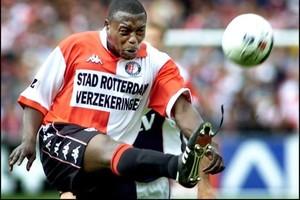 Ulrich van Gobbel ruimt op als speler van Feyenoord. © ANP.