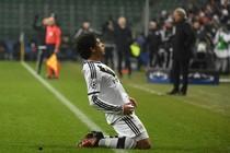 Guilherme heeft Legia Warschau een plek in de Europa League bezorgd. © EPA