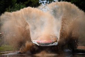 Sebastien Loeb in actie. © AFP